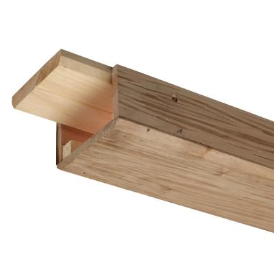 Rustic Ambrosia Maple 3 in. x 5 in. x 96 in. Wood Faux Beam