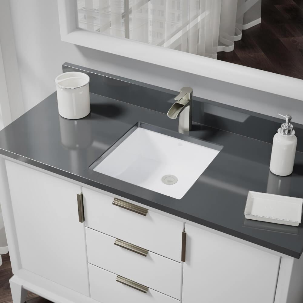Rene Undermount Porcelain Bathroom Sink