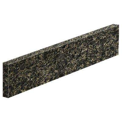 20 in. Granite Sidesplash in Uba Tuba
