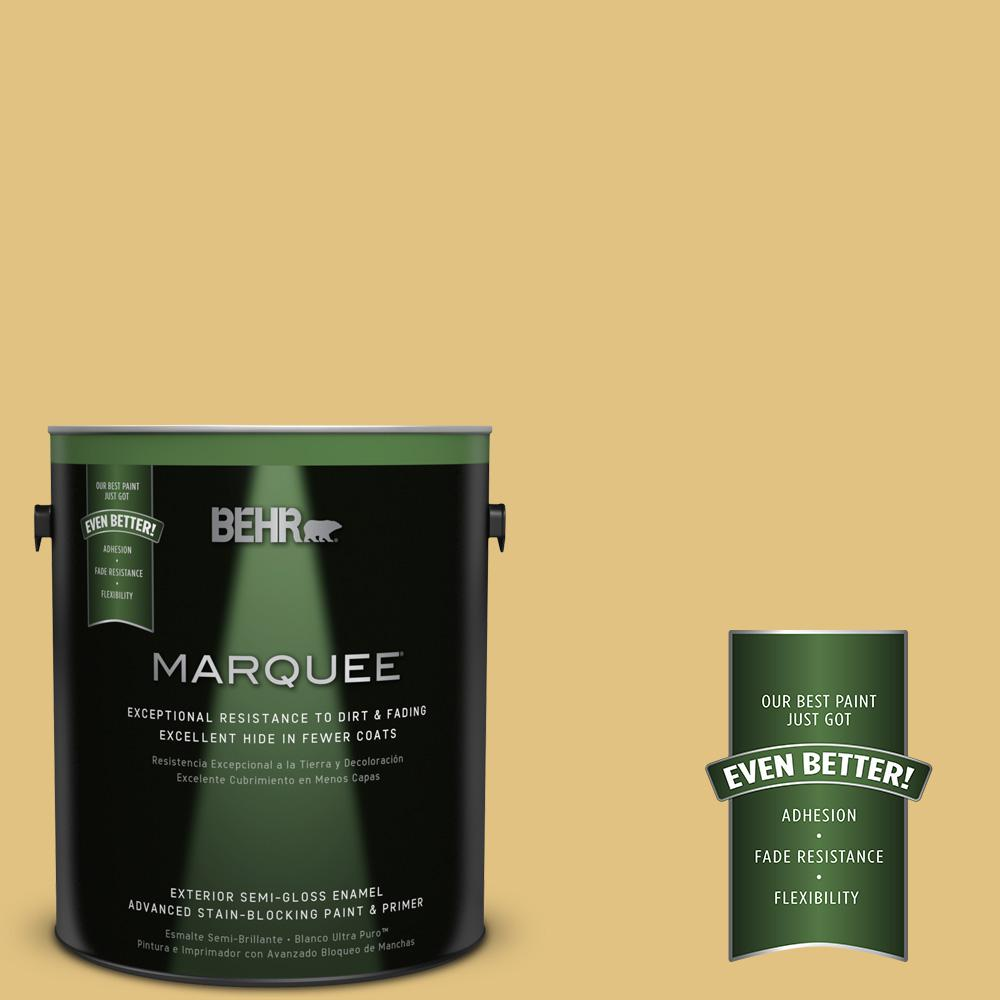 BEHR MARQUEE 1-gal. #UL180-21 Tangy Semi-Gloss Enamel Exterior Paint