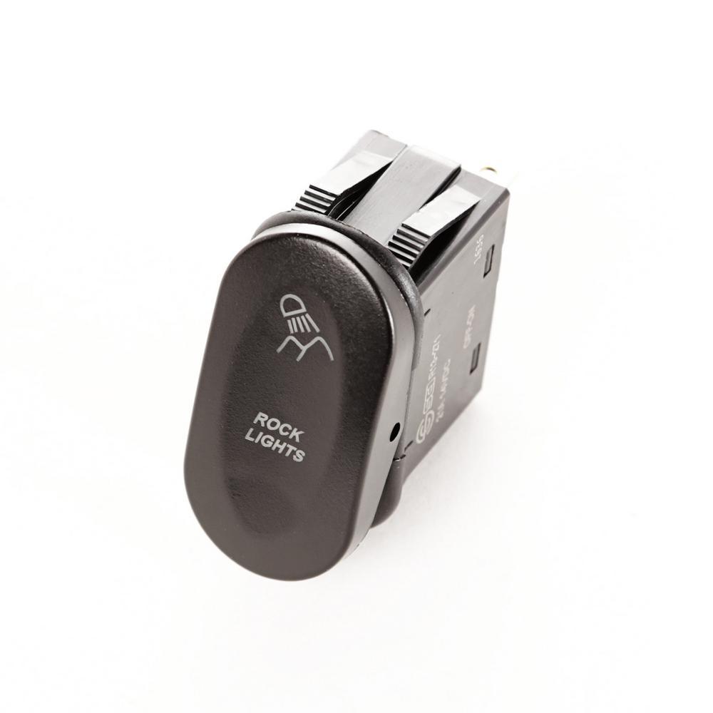 2-Position Rock Lights Rocker Switch