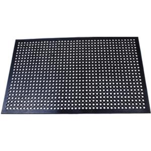Professional Series Terra Cotta 36 in. x 36 in. Grease Proof Rubber ...
