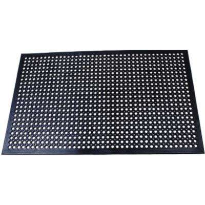 Comfort Mat Black 3 Ft X 5 Rubber Kitchen