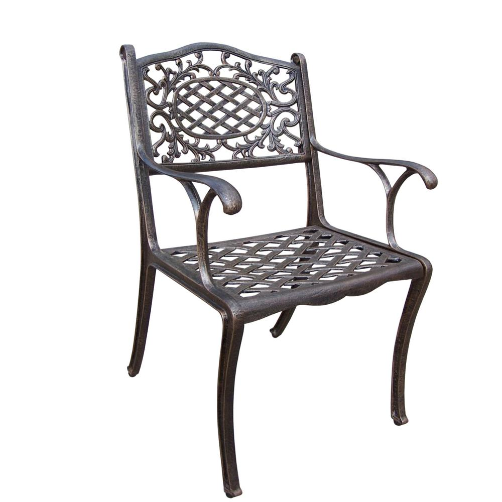 Mississippi Aluminum Outdoor Dining Chair