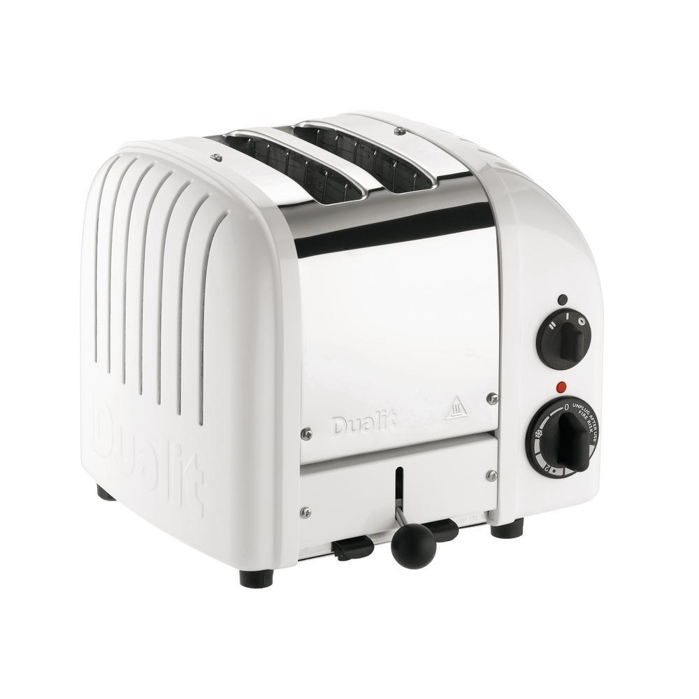 New Gen 2-Slice White Toaster