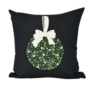 20 inch Mistletoe Me Indoor Decorative Pillow by