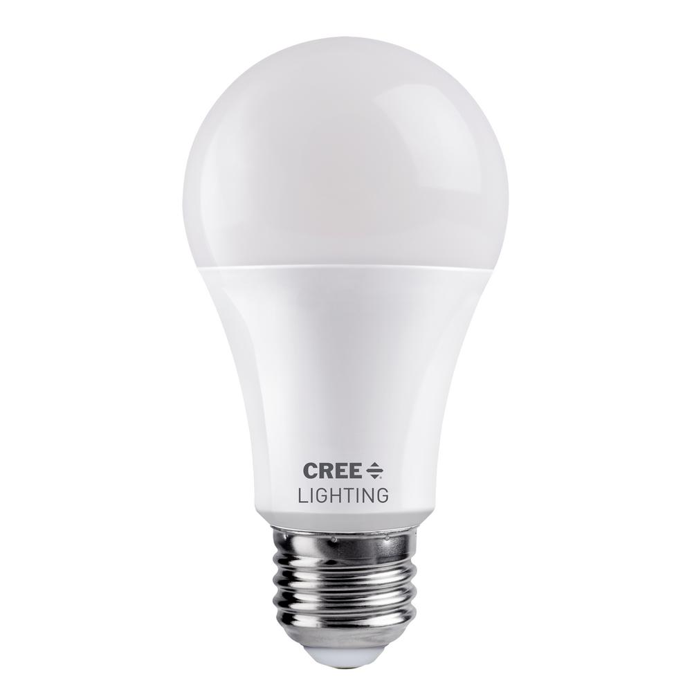 Cree 100-Watt Equivalent A19 Dimmable Exceptional Light Quality LED Light Bulb Daylight (5000K)