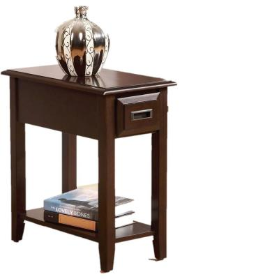 Amelia Cherry Rectangular Table Top Side Table