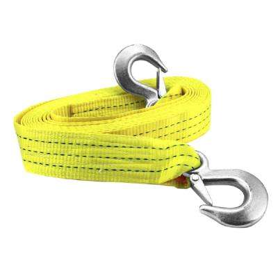 2 in. x 20 ft. Tow Strap With Steel Forged Hooks - 10000 lbs. Towing Capacity