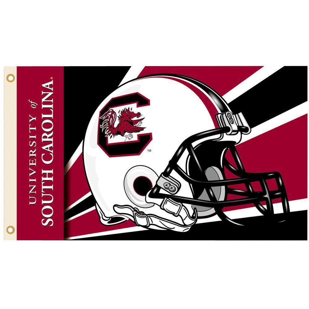 NCAA 3 ft. x 5 ft. Helmet South Carolina Flag