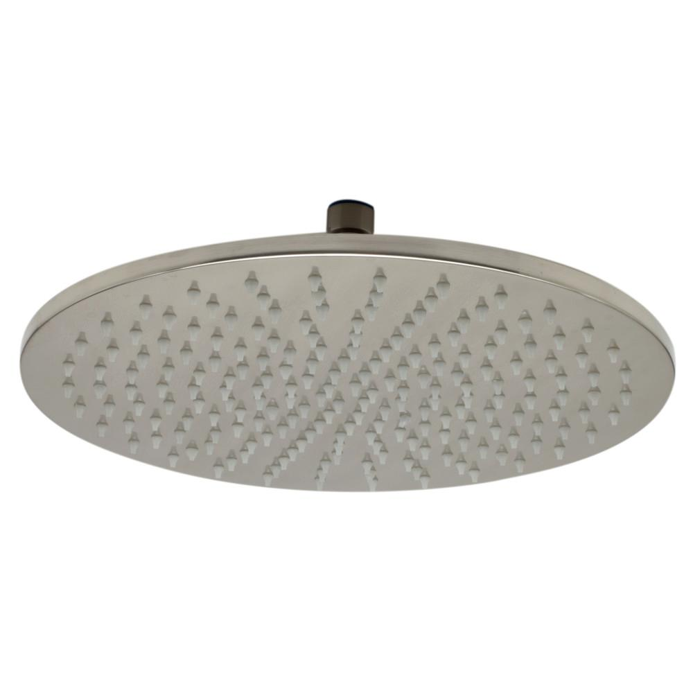 ALFI BRAND 1-Spray 12 in. Fixed Showerhead with LED Lighting in ...