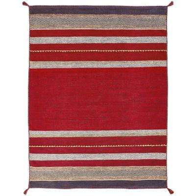 Andes Ruby 4 ft. x 6 ft. Area Rug
