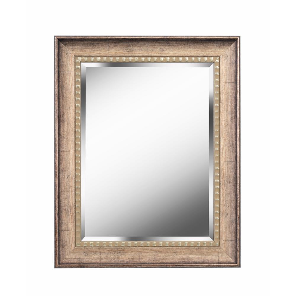 Amiens Square Gold Decorative Wall Mirror