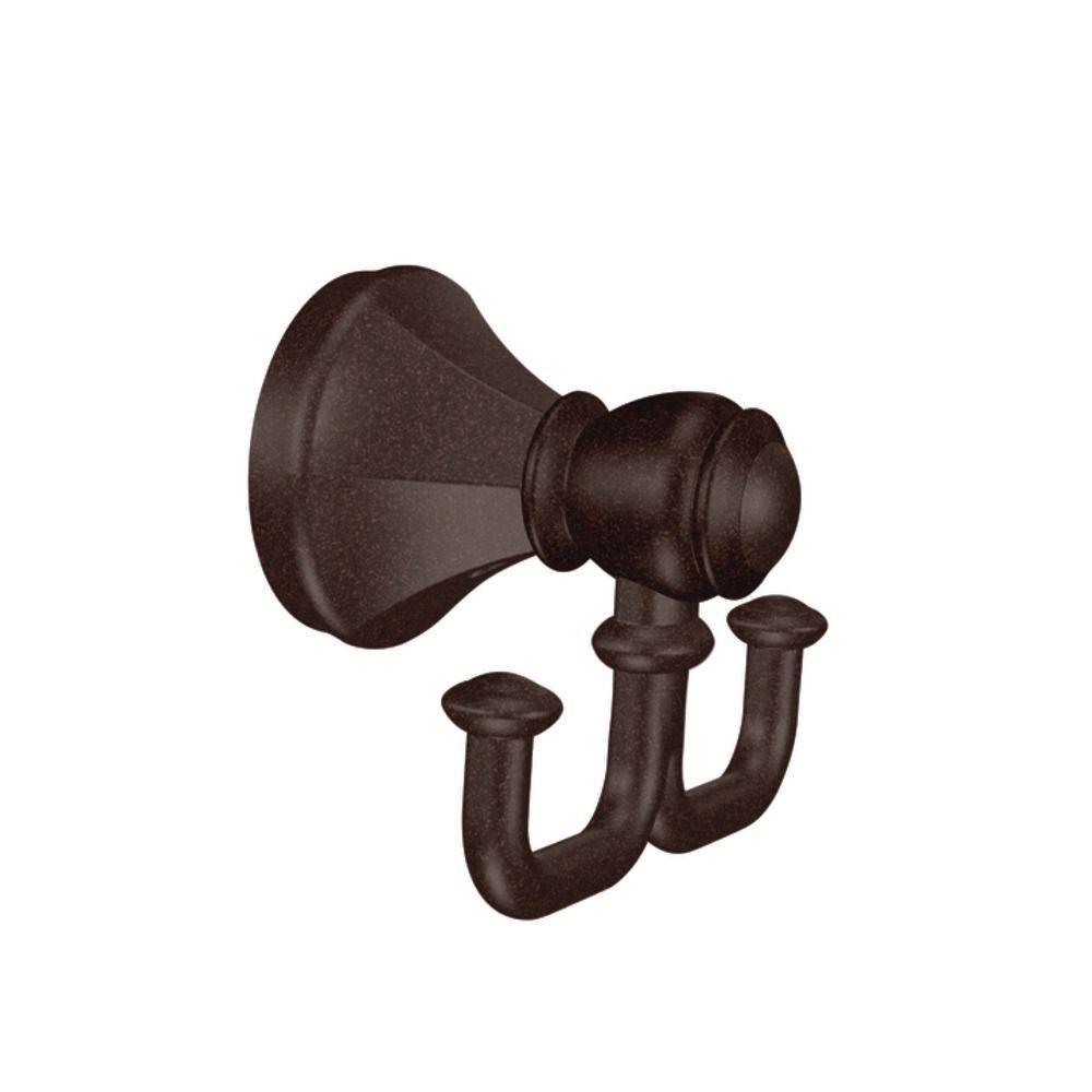 MOEN Vestige Double Robe Hook in Oil Rubbed Bronze