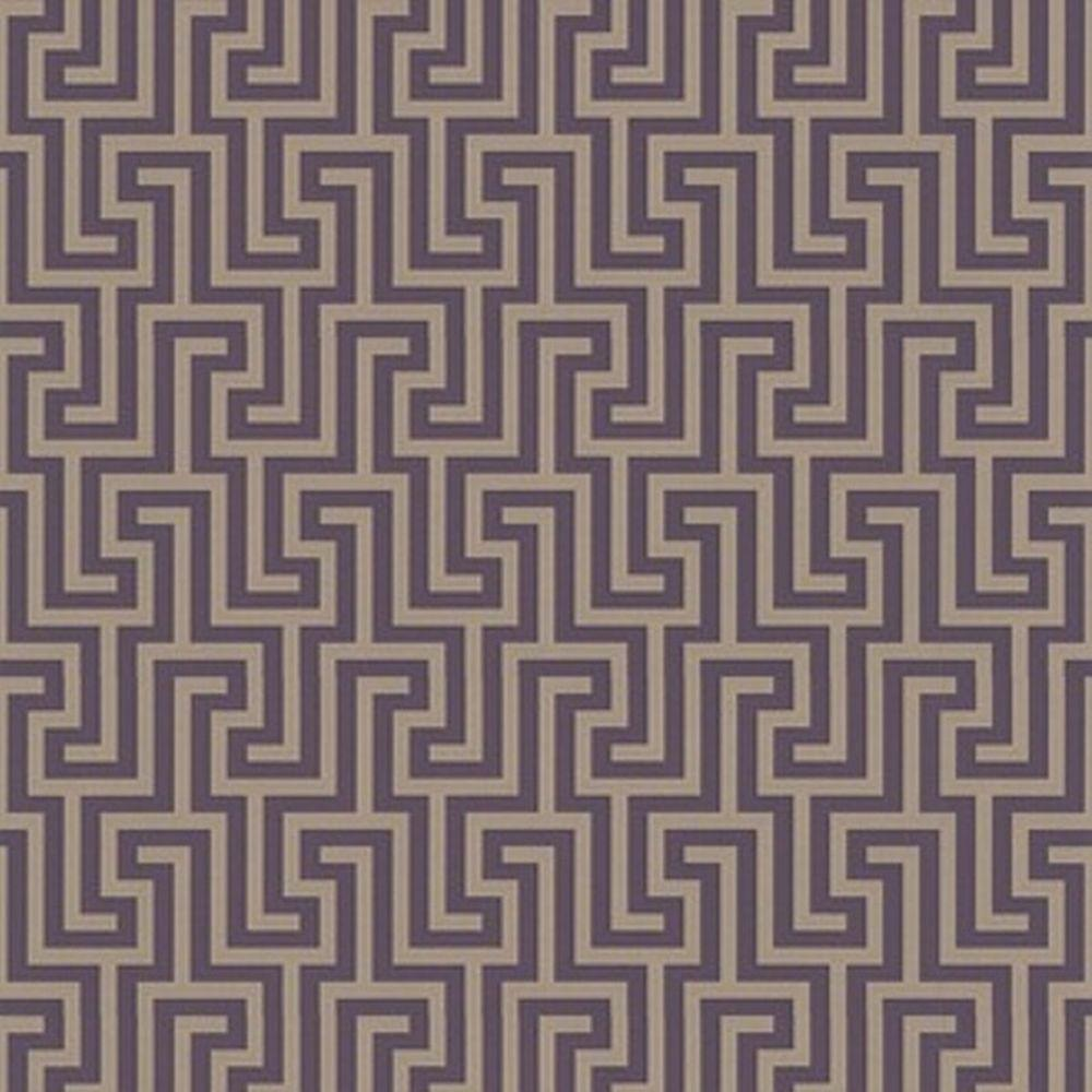 Graham & Brown 56 sq. ft. Juan Purple Wallpaper