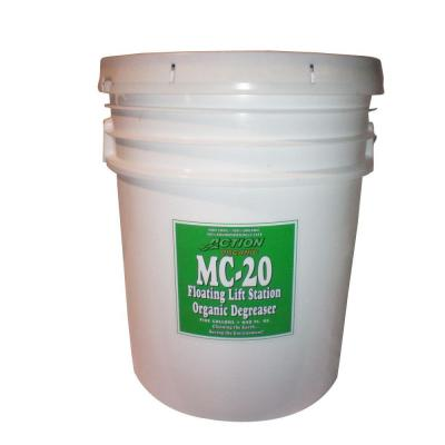 1-5 Gal. pail Organic Cherry Scented Septic Tank and Lift Station Degreaser