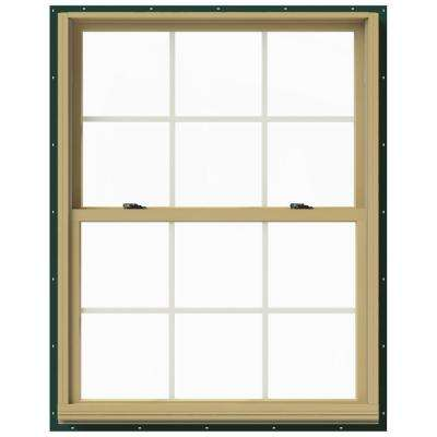 37.375 in. x 48 in. W-2500 Double Hung Aluminum Clad Wood Window