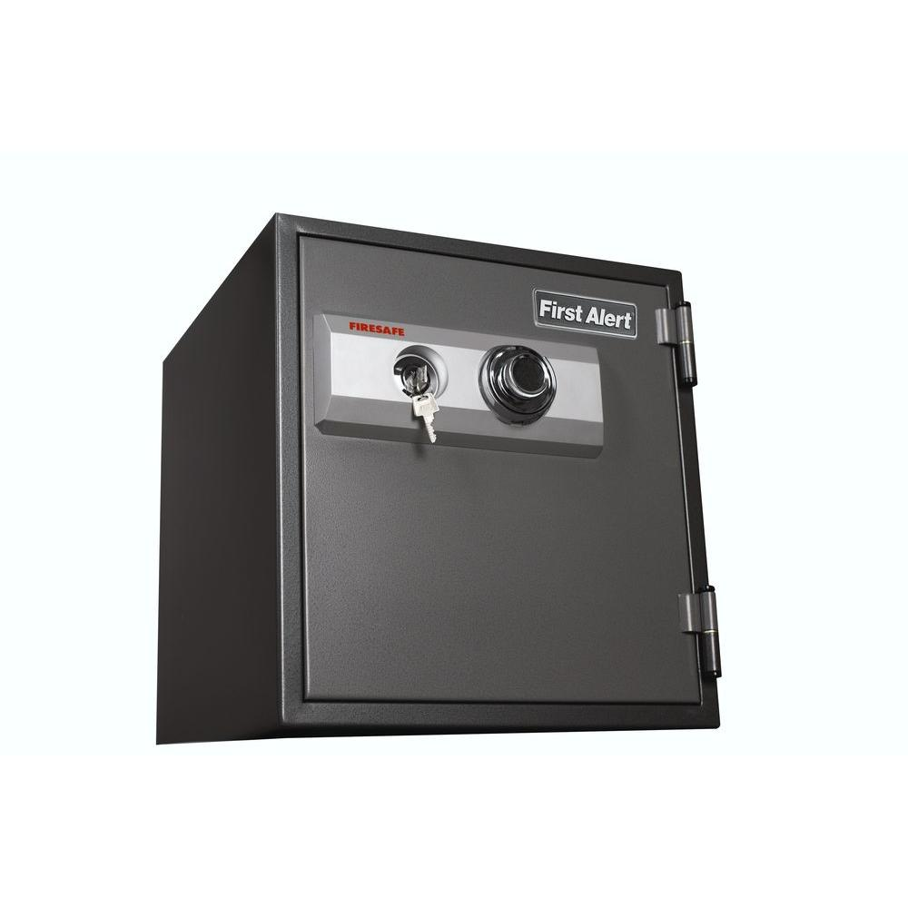 First Alert 1.22 cu. ft. Capacity and Solid Steel Construction Safe