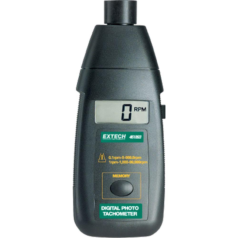 Extech Instruments Non-Contact Photo Tachometer-461893 - The