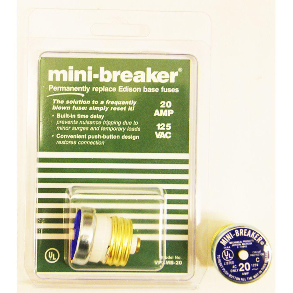 20-Amp Mini-Breaker