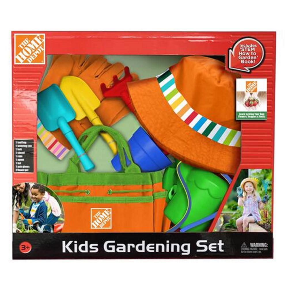 Kids Gardening Set (10-Piece)