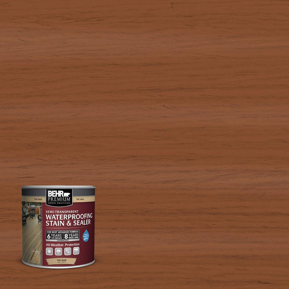 8 oz. #ST-122 Redwood Naturaltone Semi-Transparent Waterproofing Exterior Wood