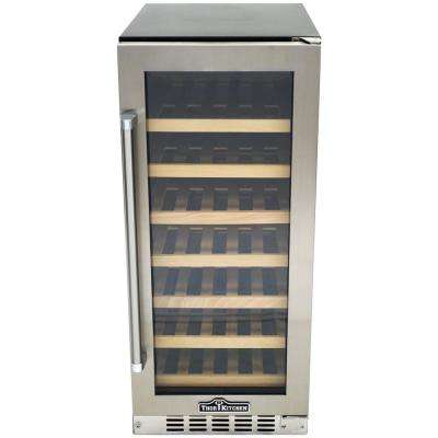 33-Bottle Single Zone Built-in/Freestanding Wine Cooler