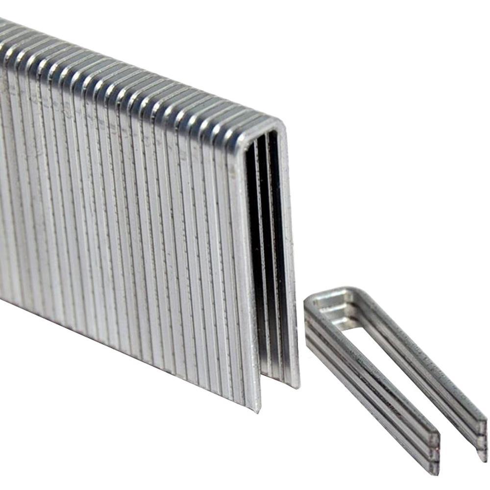 1-1/2 in. Leg x 1/4 in. Crown 18-Gauge Electro-Galvanized Flooring Staples (5,000-Pack)