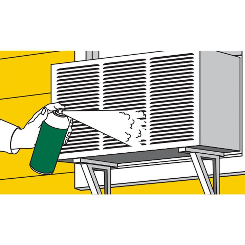 Clean evaporator coils ensure good indoor air quality
