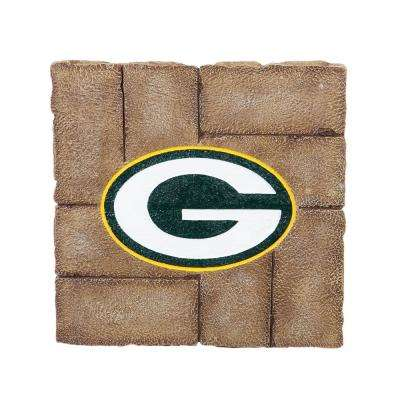 Green Bay Packers 12 in. x 12 in. Decorative Garden Stepping Stone