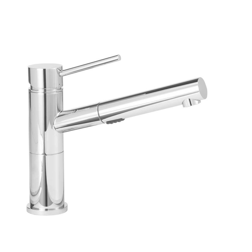blanco faucets kitchen blanco alta compact single handle pull out sprayer kitchen 10751