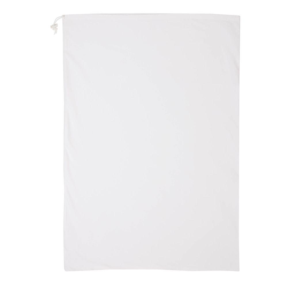 24 in. x 36 in. Nylon Laundry Bag in White (3-Pack)