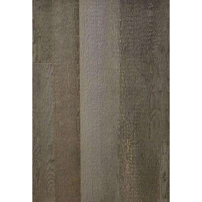 Wall Design 3/8 in. x 22 in. x 96 in. Rustic Faux Barn Wood Hampton Embossed Panel