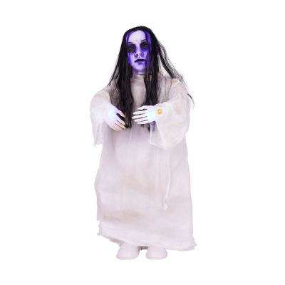 36 in. Animated Standing Ghost Girl