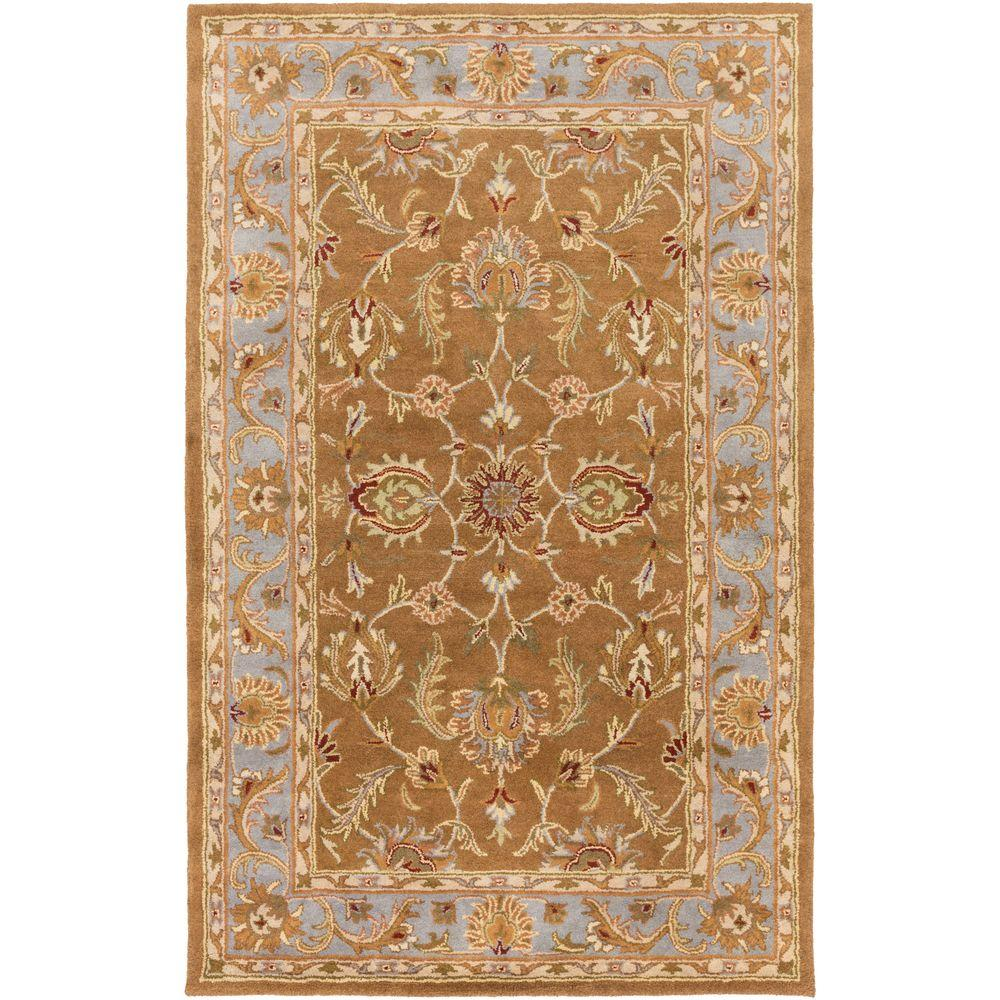 Oxford Isabelle Chocolate 3 ft. x 5 ft. Indoor Area Rug