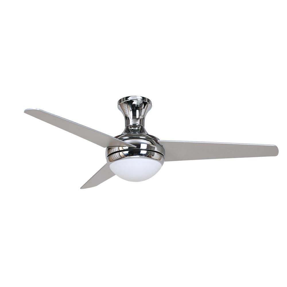 chrome ceiling fan. y decor katelyn  in chrome ceiling fankatelynch  the home depot