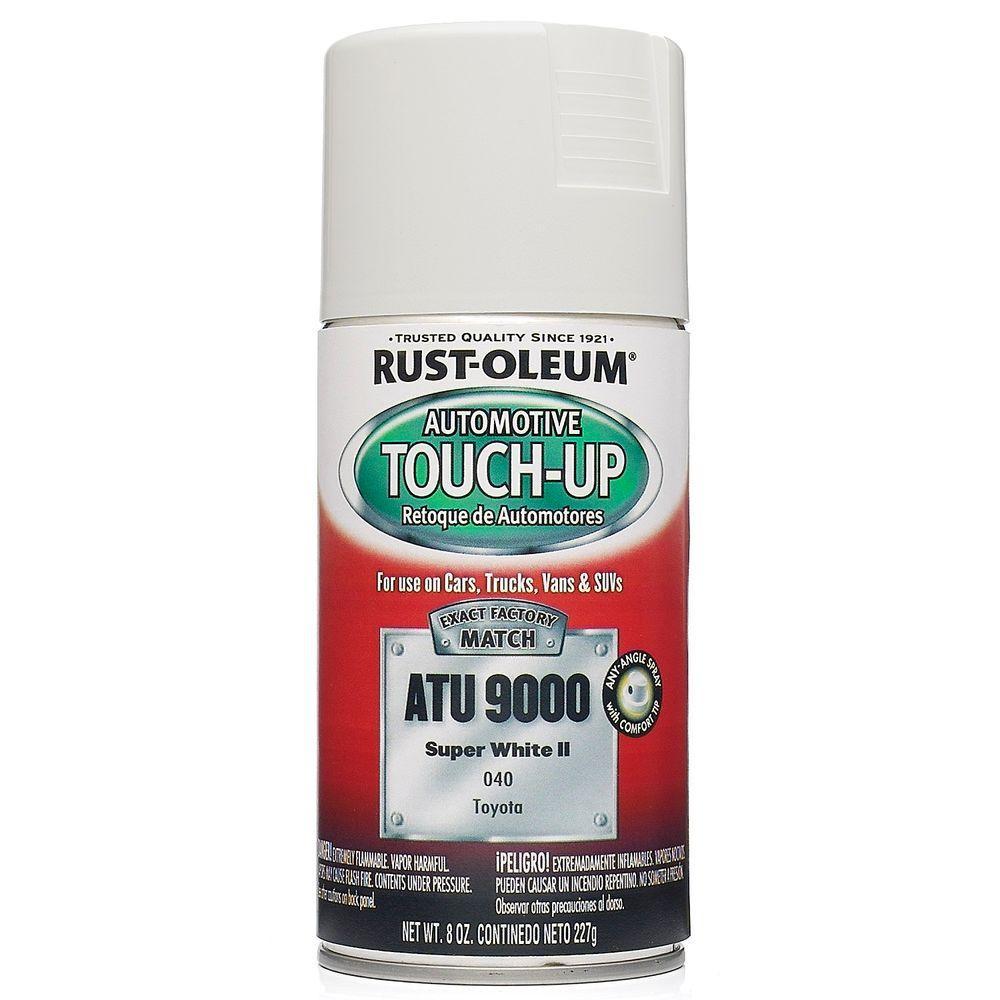 Rust-Oleum Automotive 8 oz. Super White II Auto Touch-Up Spray (6-Pack)