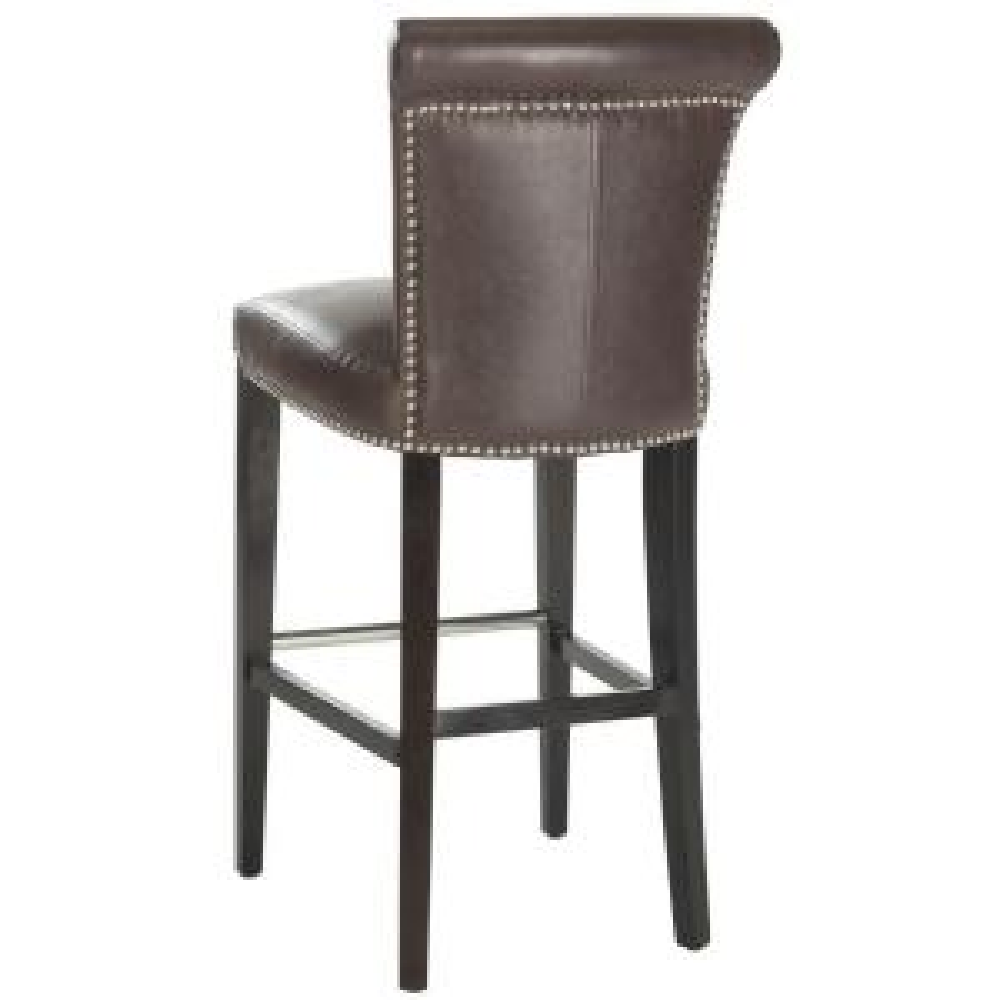 Fabulous Safavieh Seth 29 3 In Antique Brown Cushioned Bar Stool Bralicious Painted Fabric Chair Ideas Braliciousco