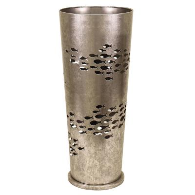 Silver Metal Umbrella Stand