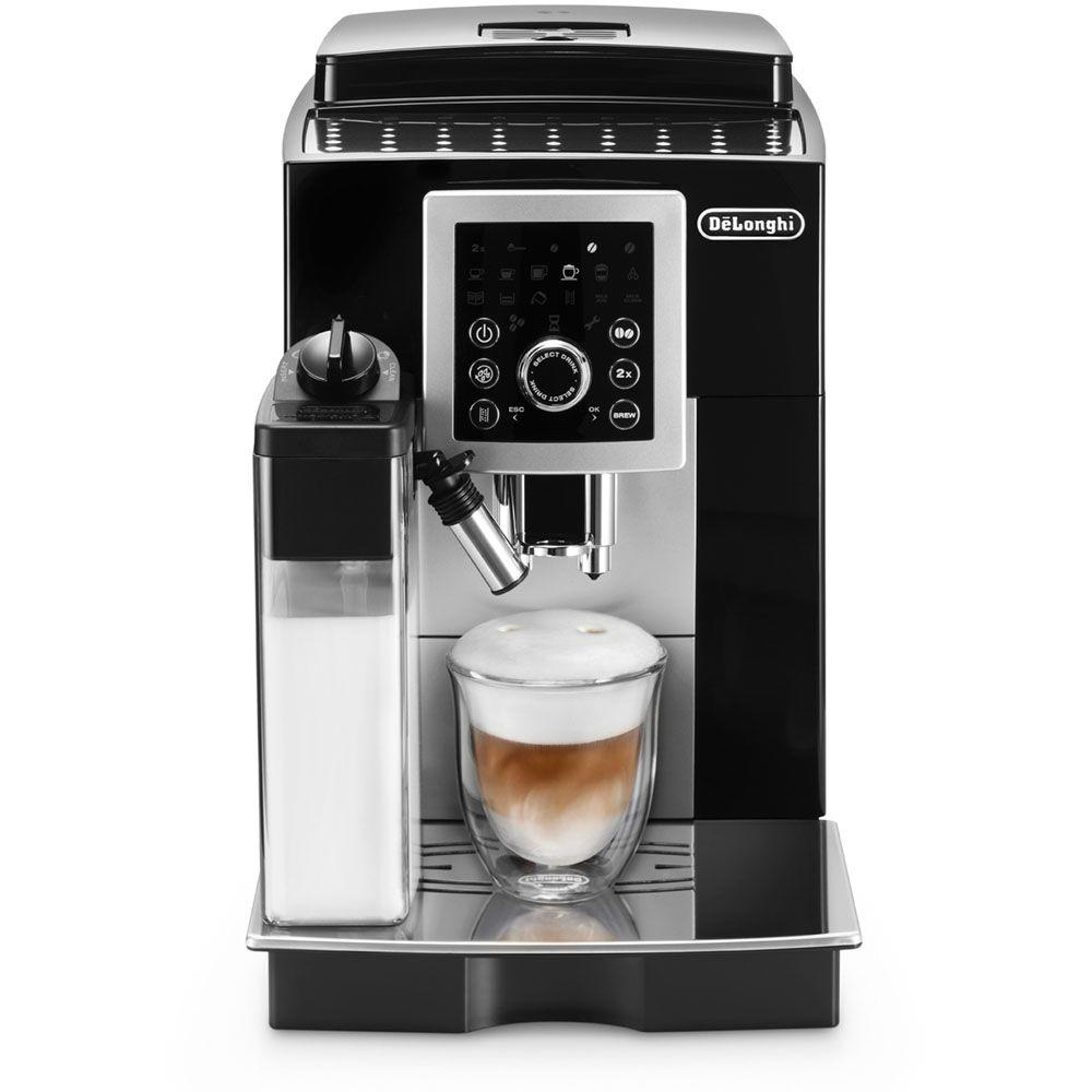 delonghi magnifica s espresso machine smart ecam23260sb the home depot. Black Bedroom Furniture Sets. Home Design Ideas