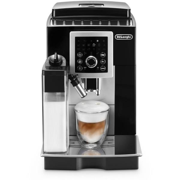 DeLonghi Magnifica S 7.5-Cup Black Espresso Machine with Built-In Grinder