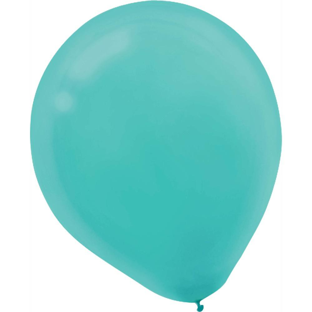 9 in. Robin's Egg Blue Latex Balloons (20-Count, 18-Pack)