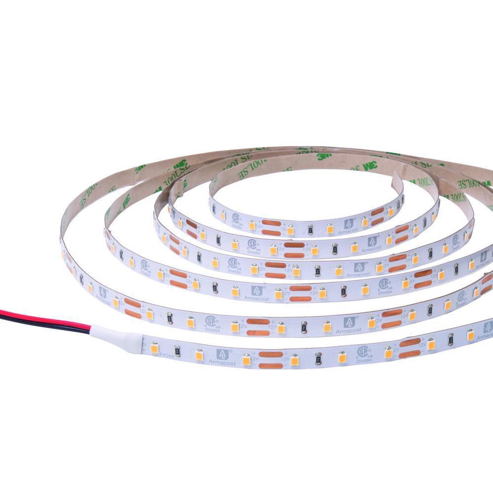 RibbonFlex Pro 32.8 ft. 12-Volt LED White Strip Light 60 LEDs/m in Bright White (4000K)