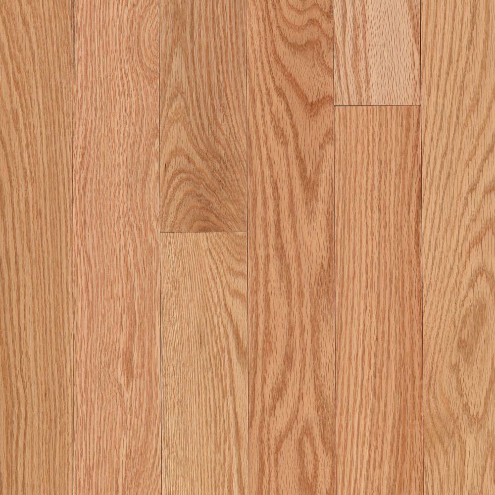 Mohawk Take Home Sample - Raymore Red Oak Natural Hardwood Flooring - 5 in. x 7 in.
