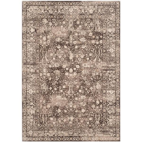 Safavieh Serenity Brown Cream 6 Ft X 9