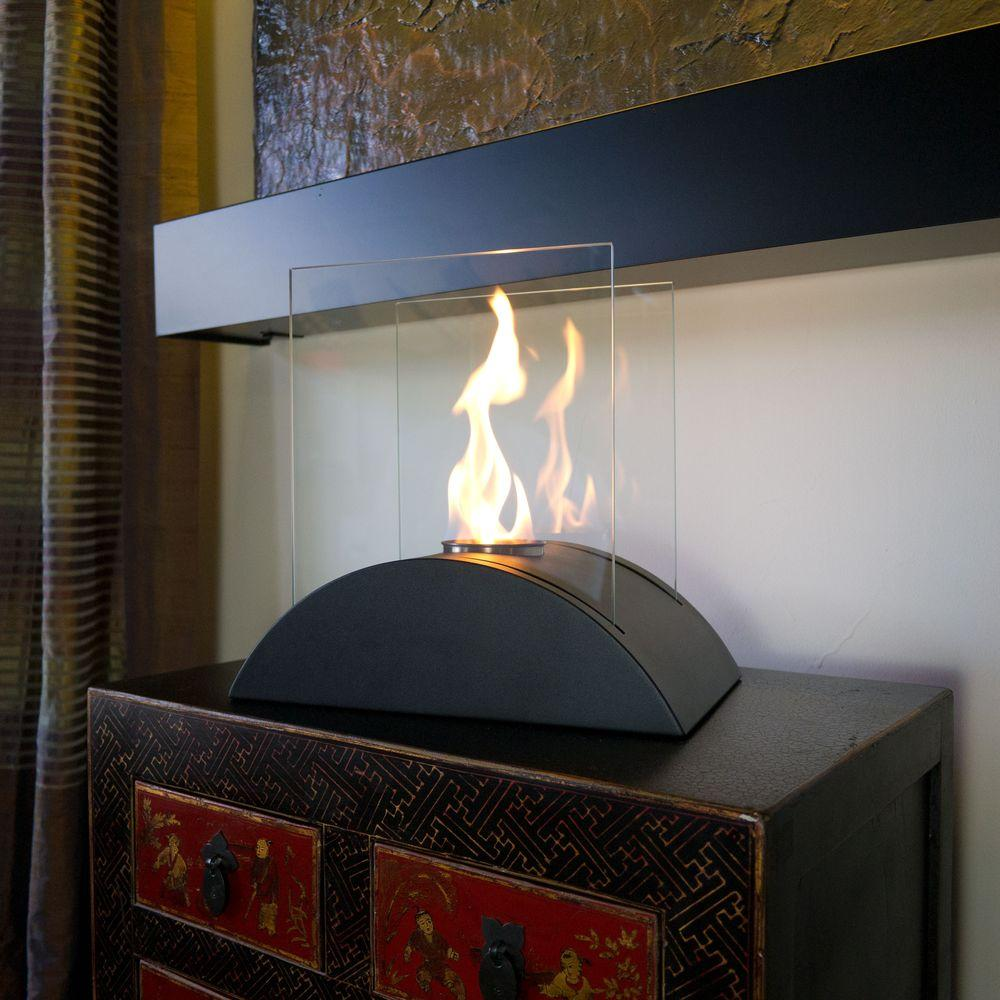 nu flame estro 13 75 in tabletop decorative bio ethanol fireplace