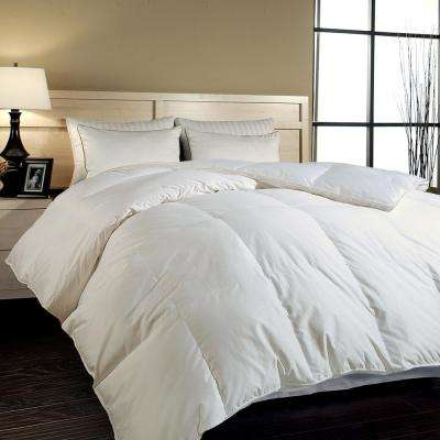 Hungarian White Goose Down King Comforter