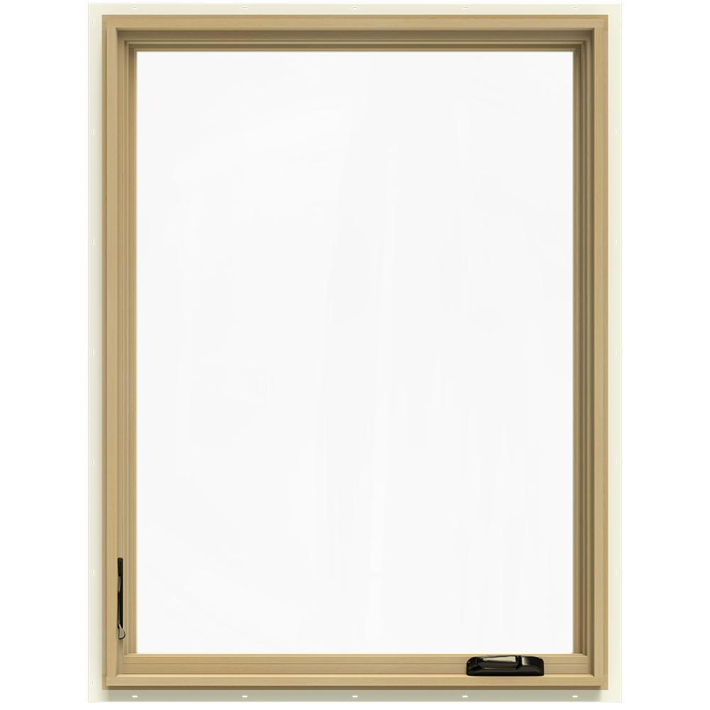 36-3/4 in. x 48-3/4 in. W-2500 Left-Hand Casement Wood Window