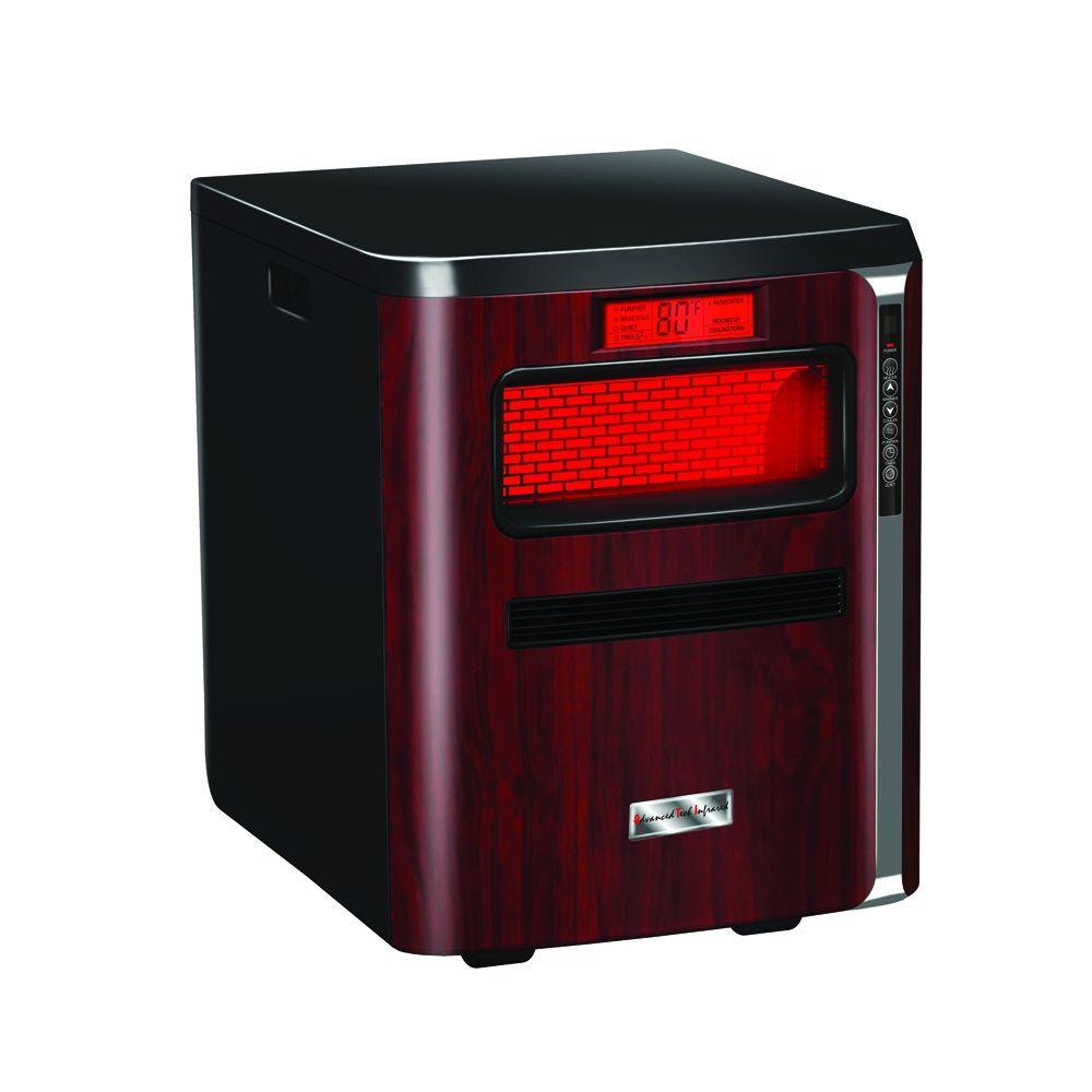 ATI HeatPure Plus All-in-1 Radiant Infrared Quartz Portable Heater with Humidifier, Air Purifier, HEPA Filter