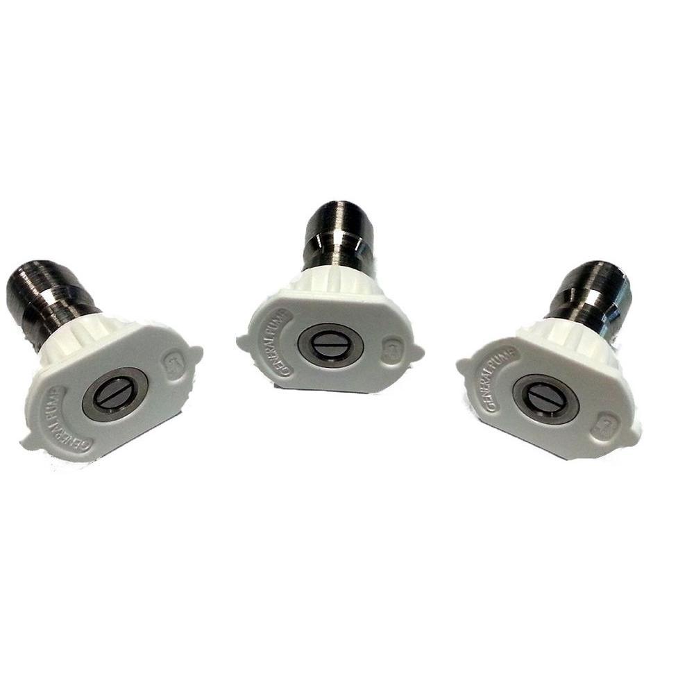 2.0 Orifice x 40 Degree Spray Nozzles (3-Pack)
